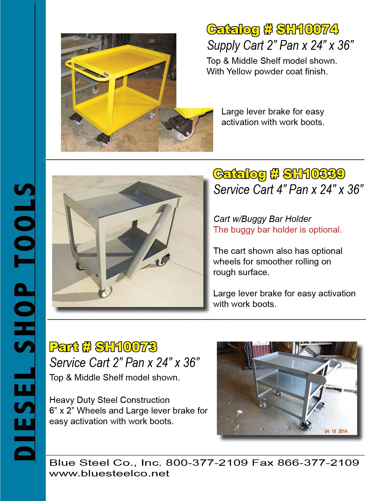 Service Carts and Supply Carts