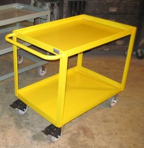 Heavy Duty Metal Supply Cart