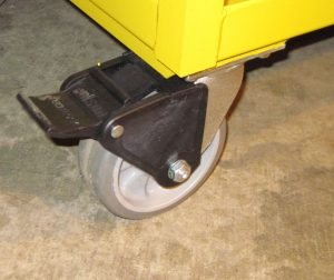 Heavy Duty Steel Supply Cart Caster