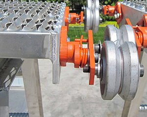 Rolling Traction Motor Work Stand
