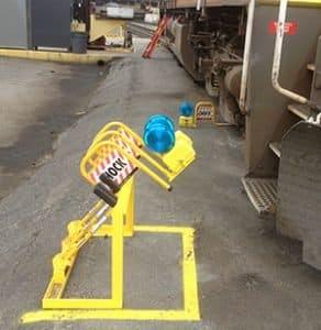 Wheel Chock Storage