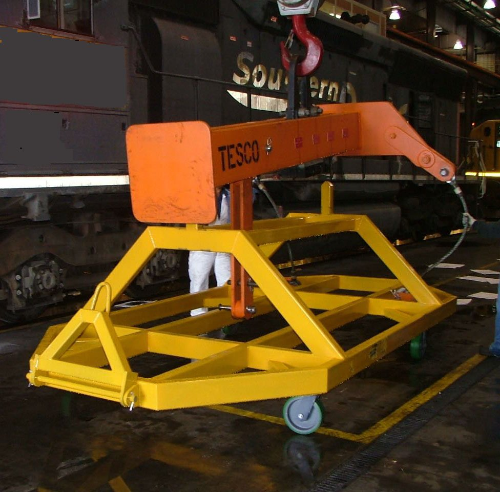 Engine Lift Cart