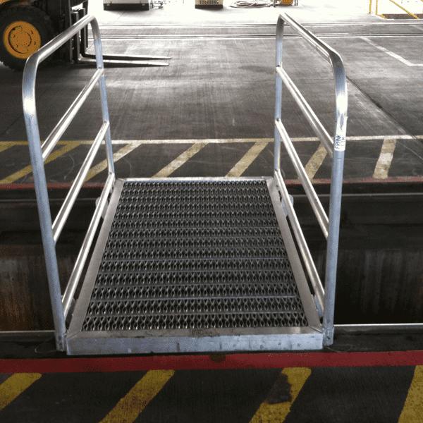 Shop Safety crossover bridge